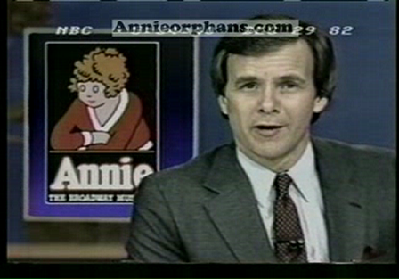 Annie closing on NBC News with Tom Brokow
