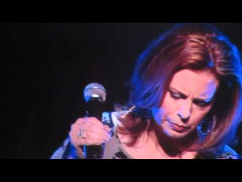 "Martha Byrne singing ""I Can't Make You Love Me"""