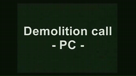 Demolition call