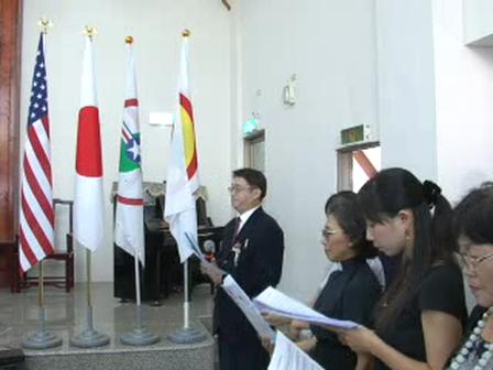 20110918台中州成立大會-F-日本國歌-台灣國歌-陳兆民