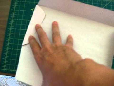 template handmade envelope