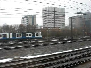 Travelling to Amsterdam Zuid