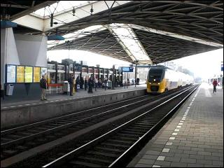 Taking the Train to Breda