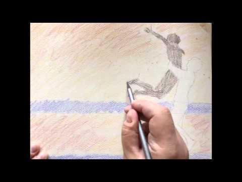 Create DIY Personal Card with WaterColor Pencils