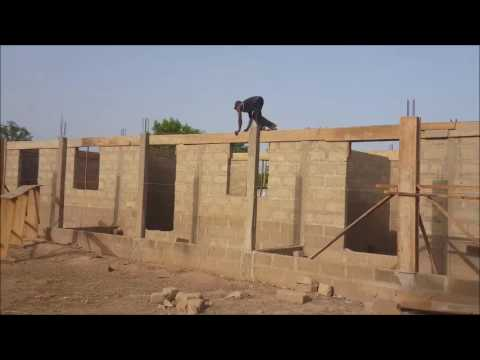 Construction of the School Continues, Update; April,2017