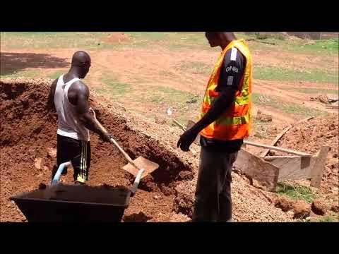 Gravel Sand Filling & Ceiling Joints Works. (Update: April,2018)