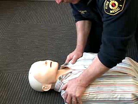 Video Demonstration of Two Step CPR for Adults