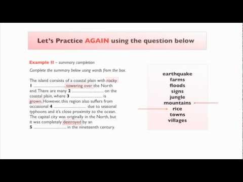 IELTS Listening - Context and Prediction