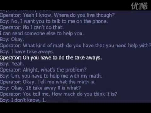 A kid called 911 for help with math