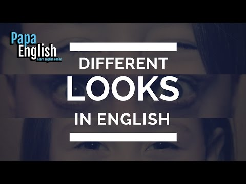 Are you staring at me!? - Different ways to look at people and things