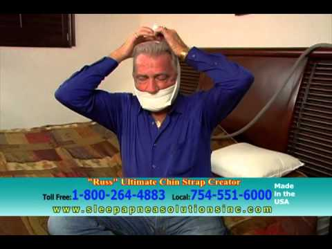 Sleep Apnea and Snoring Chin Strap - New Product Now Available