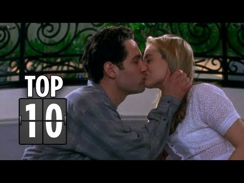 Top Ten Places To Kiss - Romantic Movie List HD