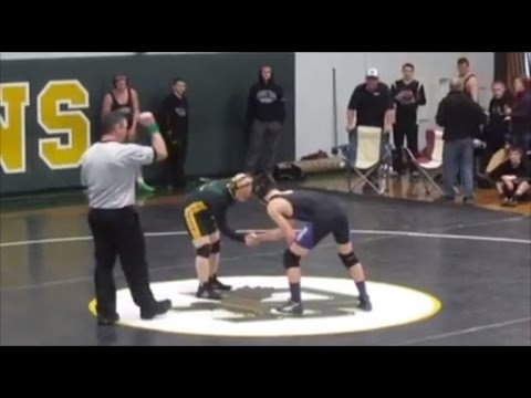 Undefeated High School Wrestler Makes Opponents Dreams Come True