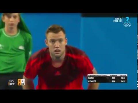 Jack Sock v Leighton Hewitt. Sportsmanship at its absolute best