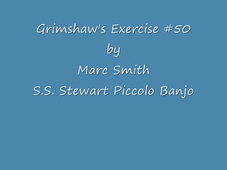 Piccolo Banjo, Grimshaw 50th