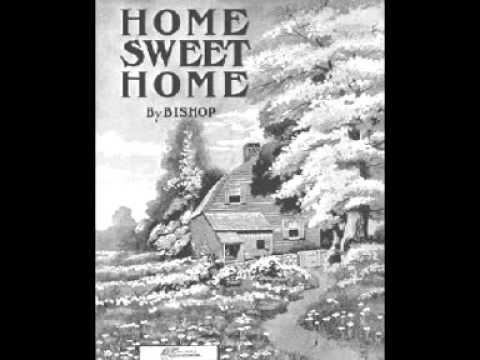 Home Sweet Home with variations - Herbert J Ellis