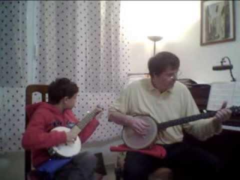 Queen of the burlesque_banjo & Bj junior