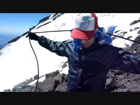 Climbing skills:  Alpine rope coil