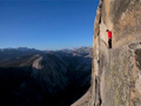 Yosemite Jimmy Chin climbing video of Alex Honnold