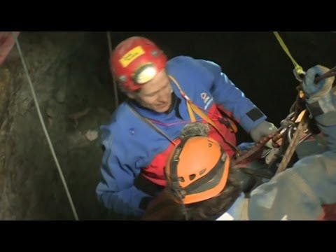 Injured Man Trapped in German Cave Rescued After 12 Days