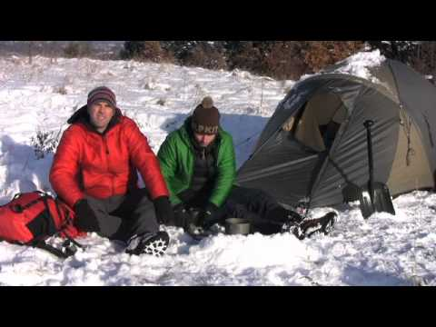 Winter camping - Sleep better when camping in your tent in winter