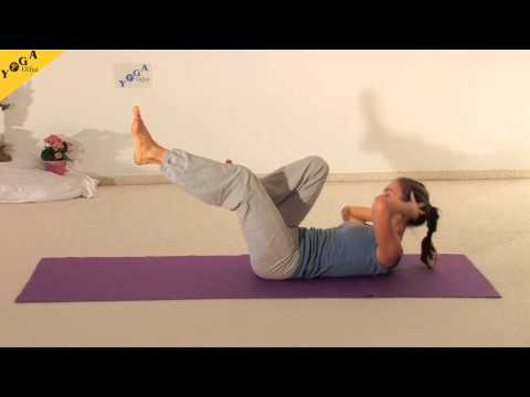 Yoga - Yogasequence with Carlotta: exercises for a toned tummy