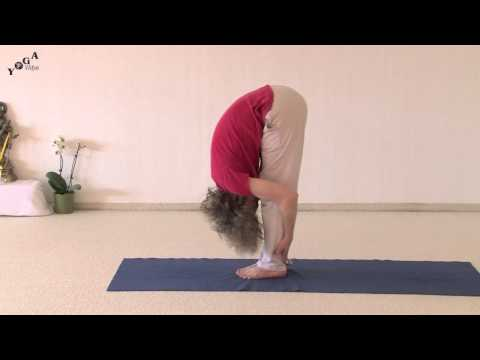 Standing Forward Bend Hand Positions