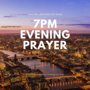 Daily Evening Prayer with St Ann's Church on Instagram