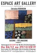 Affiche Christine ROBINSON