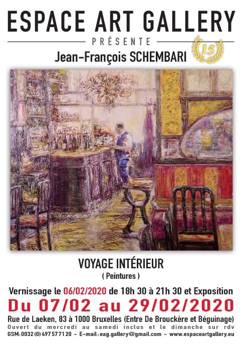 Affiche Jean-François SCHEMBARI