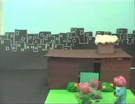 Godzilla vs. The Three Little Pigs