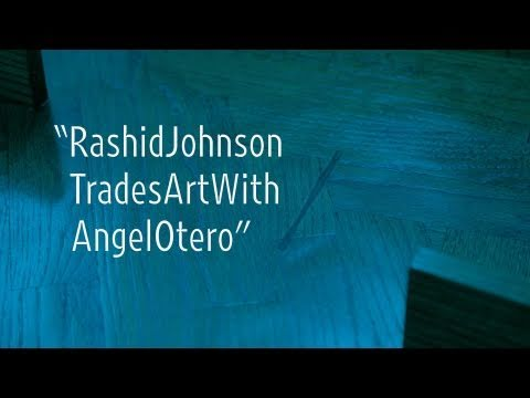 Rashid Johnson Trades Art with Angel Otero
