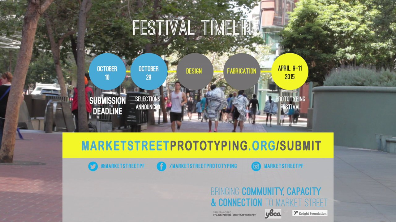 Market Street Prototyping Festival Promo