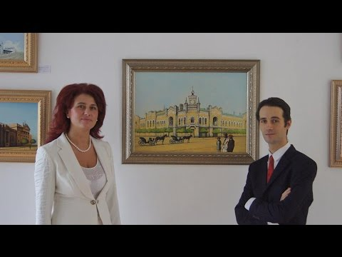 "Expozitia ""Tezaurul Chisinaului"" a artistului plastic Ghenadie Sontu"