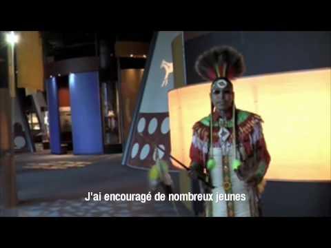 "La danse Indienne ""Blackfoot Chicken"" - Alberta, Canada"