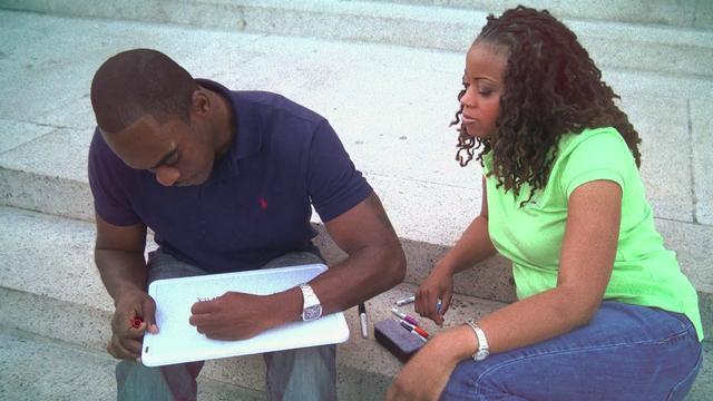 Maurice and Keisha Save the date