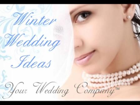 Winter Wedding Ideas - Decorations, Accessories, Bouquets & Centerpieces