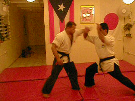 knife practice between two of my students