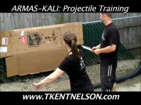 Guro T. Kent Nelson - 1st Knife Throwing Lesson / Armas-Kali