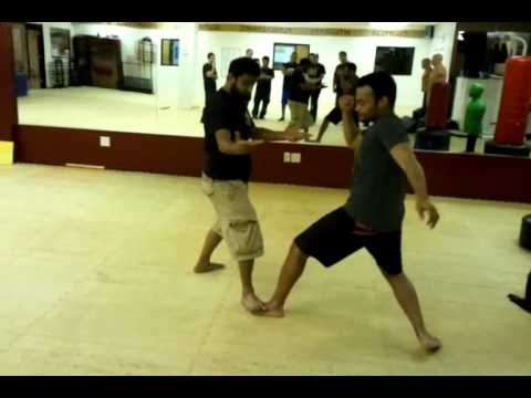 Foot trap variations with friends at Orlando Esrkima - FIGHTING FOR LIVES