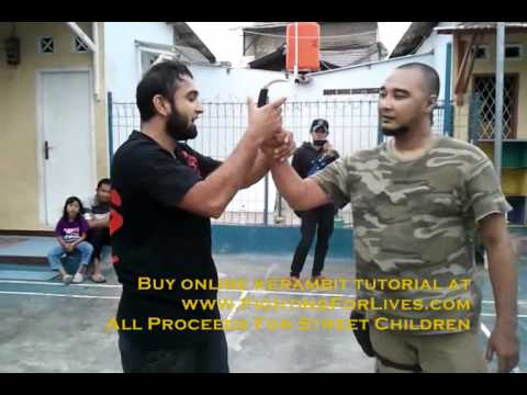 Kerambit Techniques with bro Chico Wolf in Jakarta - Parvez Alam, FIGHTING FOR LIVES