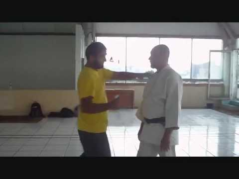 Knife Fighting at Red Aiki seminar with Chico in Jakarta - Parvez Alam, FIGHTING FOR LIVES