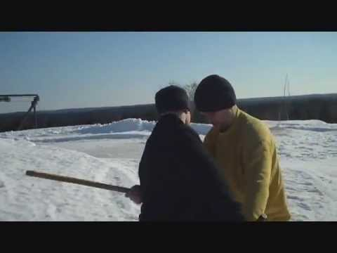Winter Stick Fighting in Finland - Parvez and brothers! - FIGHTING FOR LIVES