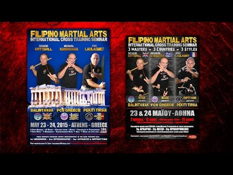 Fipilino Martial Arts INTERNATIONAL Cross Training Seminar - PROMO