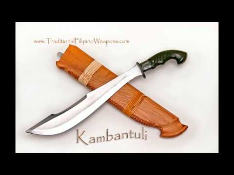 The TFW Kambantuli cutting up meat and ribs. This is a beautiful sword...