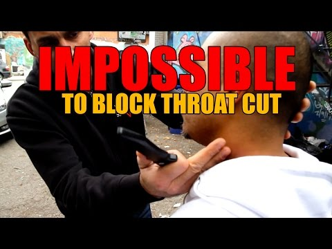 MUST WATCH!!!  The UNBLOCKABLE Throat Cut!!! | Mastro Defence System