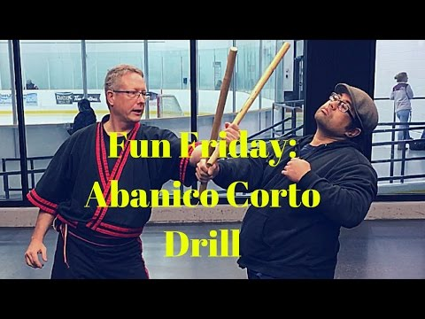 Fun Friday: Abanico Corto Drill