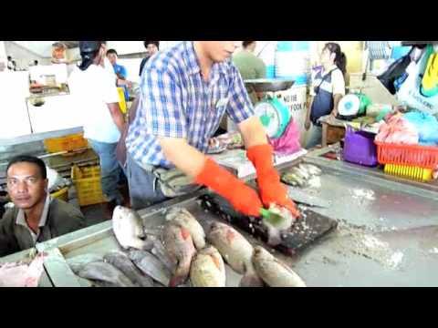 Sandakan, Sabah Fish Markets