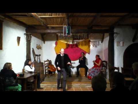 Evening of flamenco at Hotel Bandolero, Júzcar (Málaga)