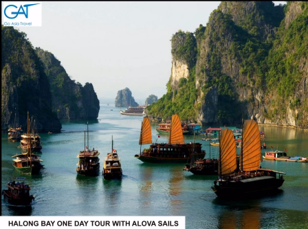 Halong bay one day tour - Alova Sails - Go Asia Travel